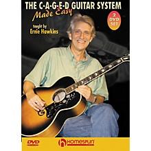 Homespun The C-A-G-E-D Guitar System Made Easy DVD's 1 & 2