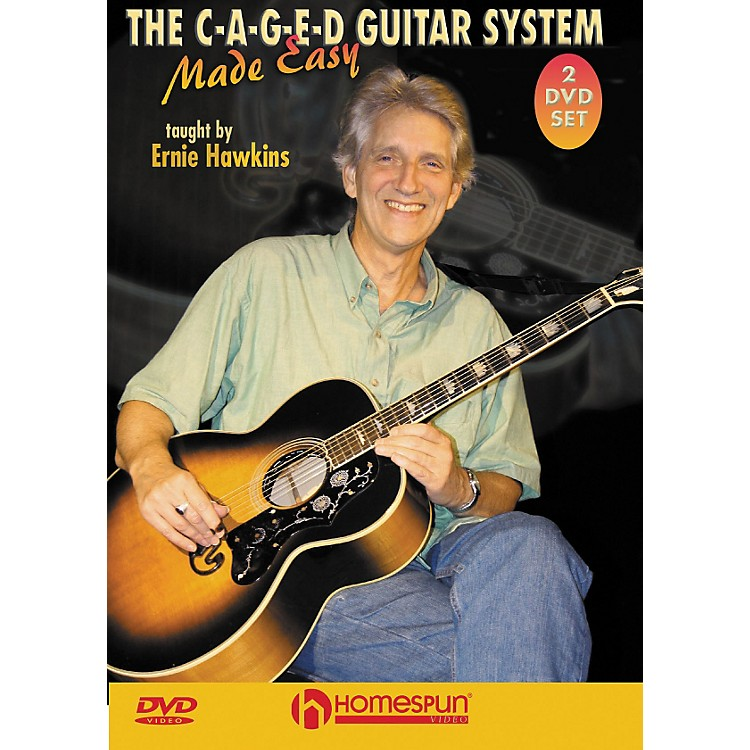 Homespun The C-A-G-E-D Guitar System Made Easy DVD's 1 & 2