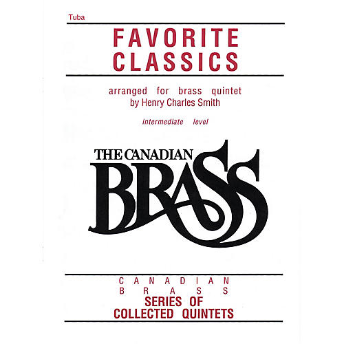 Canadian Brass The Canadian Brass Book of Favorite Classics (Tuba in C (B.C.)) Brass Ensemble Series Composed by Various-thumbnail