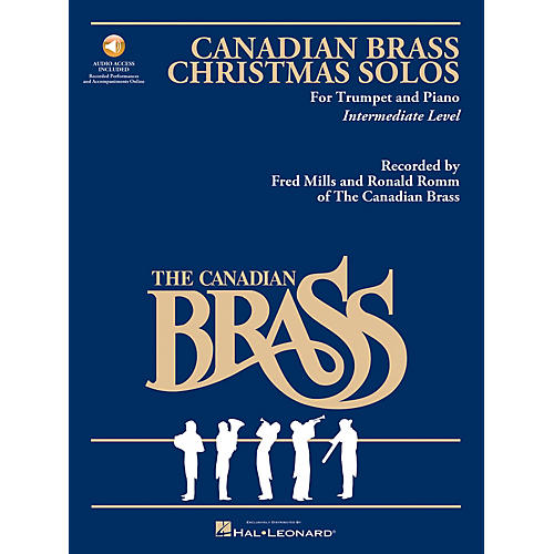 Hal Leonard The Canadian Brass Christmas Solos Brass Series Book Audio Online-thumbnail