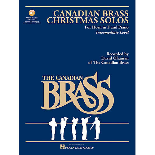 Hal Leonard The Canadian Brass Christmas Solos Brass Series Book with CD  by Various