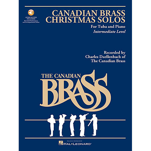 Hal Leonard The Canadian Brass Christmas Solos (Tuba) Brass Series Softcover Audio Online Composed by Various-thumbnail