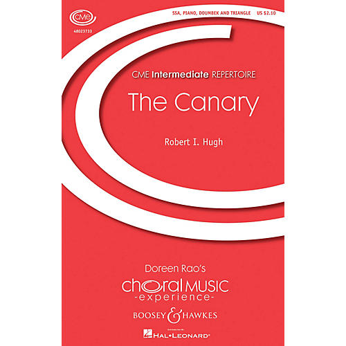 Boosey and Hawkes The Canary (CME Intermediate) SA composed by Robert Hugh-thumbnail