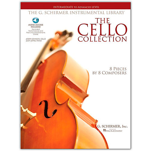 G. Schirmer The Cello Collection - Intermediate To Advanced Cello/Piano G. Schirmer Instr Library
