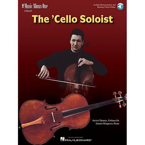 Music Minus One The Cello Soloist - Classic Solos for Cello and Piano Music Minus One Series Softcover Audio Online-thumbnail