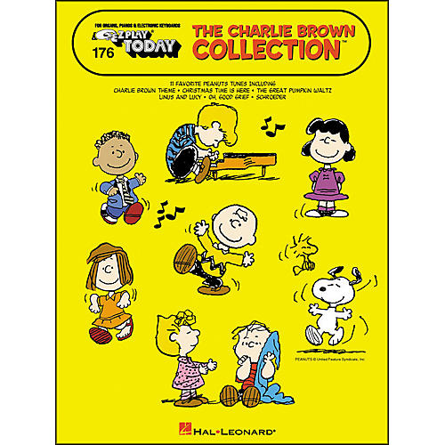 Hal Leonard The Charlie Brown Collection E-Z Play 176