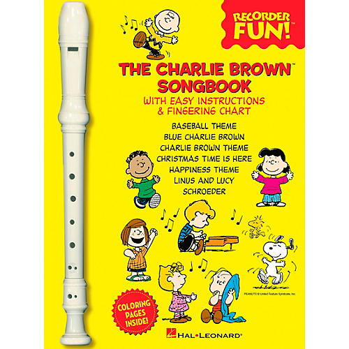 Hal Leonard The Charlie Brown Songbook - Recorder Fun Book/Recorder Pack-thumbnail