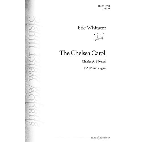 Shadow Water Music The Chelsea Carol SATB, Organ composed by Eric Whitacre-thumbnail