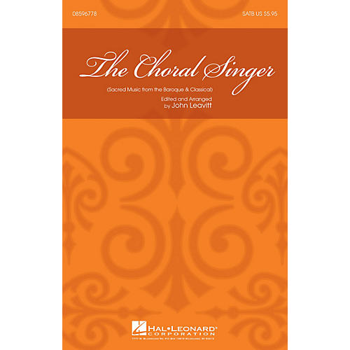 Hal Leonard The Choral Singer (Sacred Music from the Baroque and Classical) SATB-thumbnail