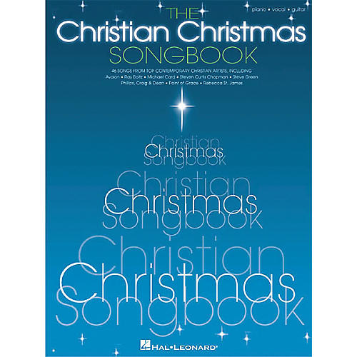 Hal Leonard The Christian Christmas Piano, Vocal, Guitar Songbook