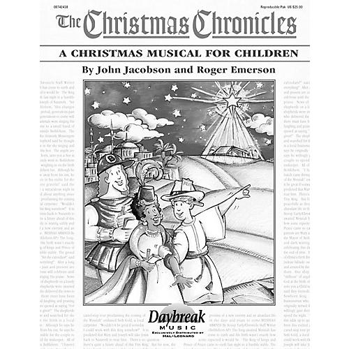 Daybreak Music The Christmas Chronicles REPRO PAK composed by Roger Emerson-thumbnail