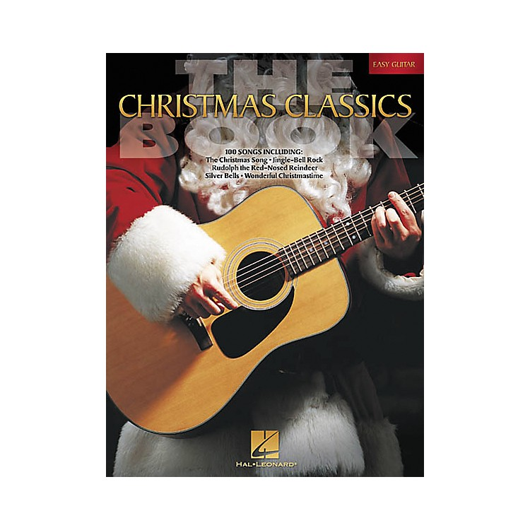 Hal Leonard The Christmas Classics Easy Guitar Tab Songbook