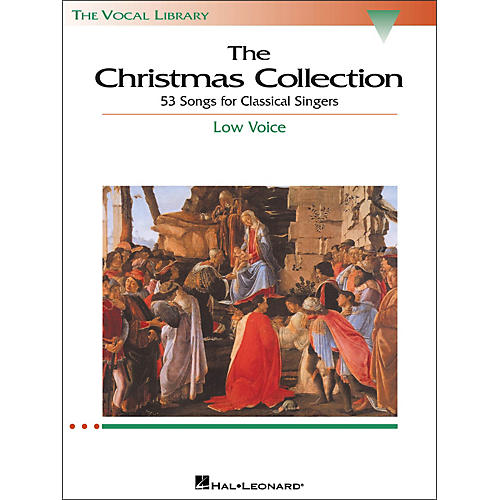 Hal Leonard The Christmas Collection for Low Voice (The Vocal Library Series)