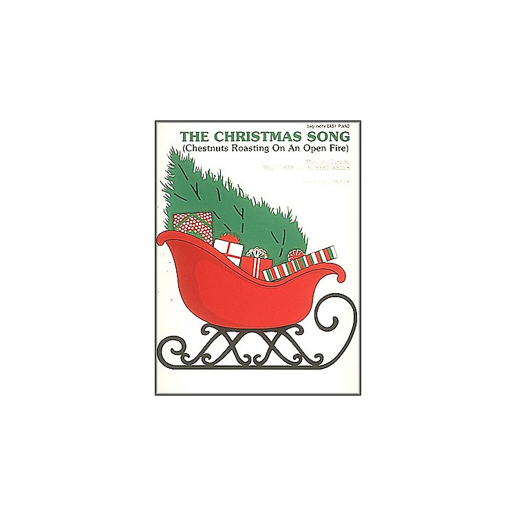 Hal Leonard The Christmas Song - Chestnuts Roasting On An Open Fire for Big Note Piano
