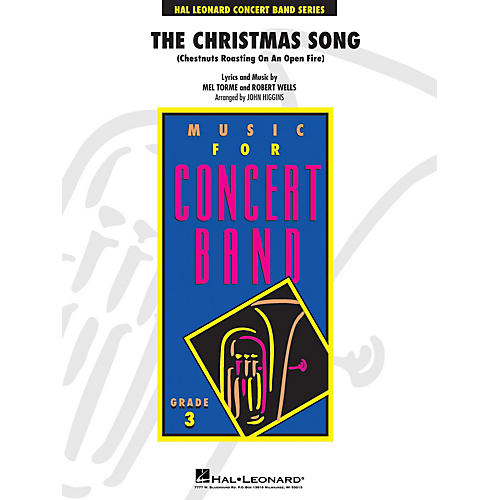 Hal Leonard The Christmas Song - Young Concert Band Level 3 by John Higgins-thumbnail