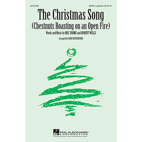 Hal Leonard The Christmas Song (Chestnuts Roasting on an Open Fire) SATB a cappella arranged by Paris Rutherford-thumbnail