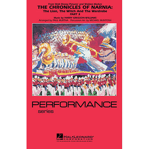 Hal Leonard The Chronicles of Narnia - Part 3 Marching Band Level 4 Arranged by Paul Murtha/Michael McIntosh-thumbnail