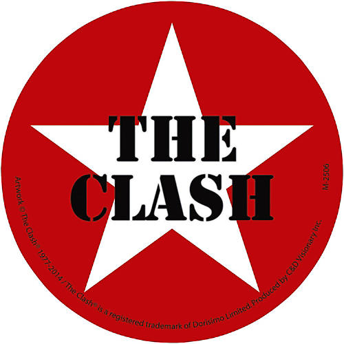 C&D Visionary The Clash Magnet - Star logo-thumbnail