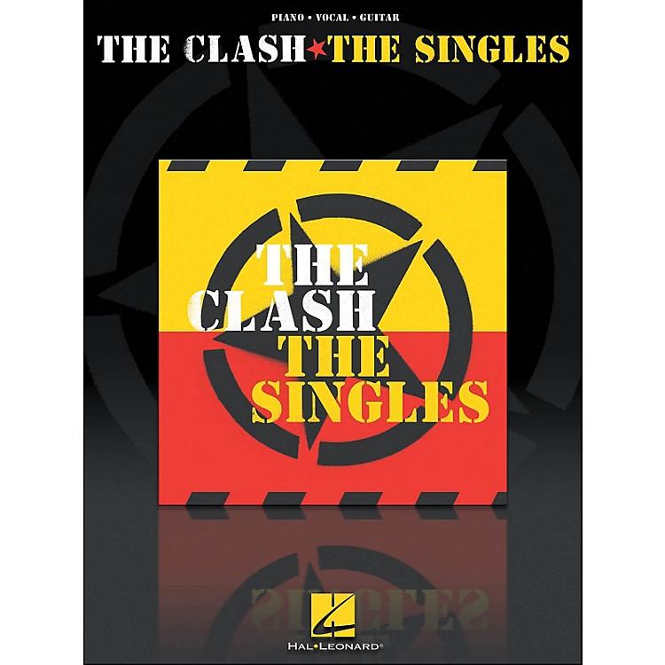 Hal LeonardThe Clash The Singles arranged for piano, vocal, and guitar (P/V/G)