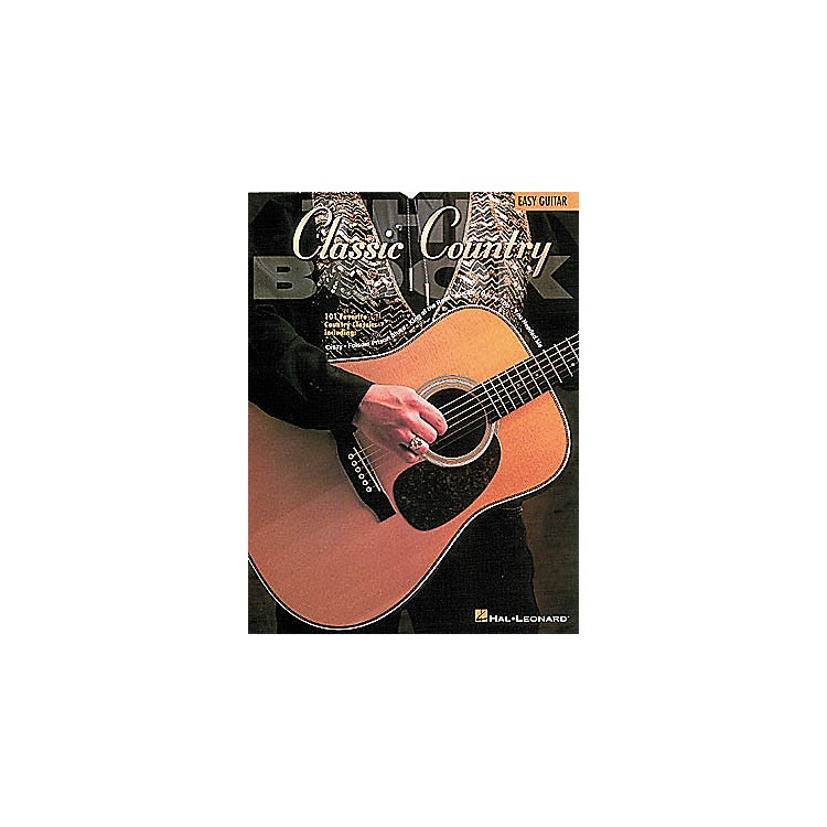 Hal LeonardThe Classic Country Book - Guitar Songbook