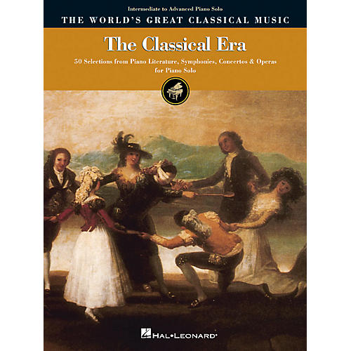 Hal Leonard The Classical Era - Intermediate to Advanced Piano Solo World's Greatest Classical Music by Various