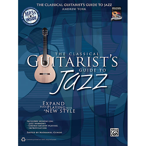 Alfred The Classical Guitarist's Guide to Jazz Book & 3 CDs