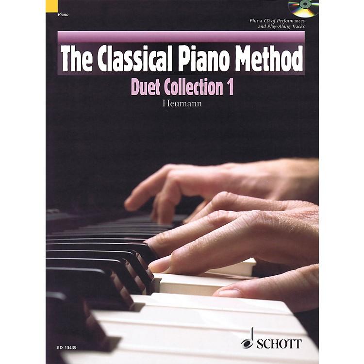 Hal LeonardThe Classical Piano Method - Duet Collection 1 Book/CD