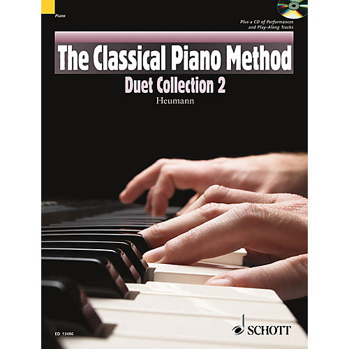 Schott The Classical Piano Method - Duet Collection 2 Schott Series Softcover with CD Composed by Various-thumbnail