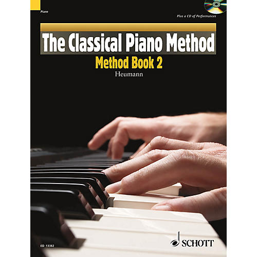 Schott The Classical Piano Method - Method Book 2 Schott Series Softcover with CD-thumbnail