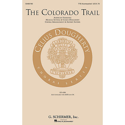G. Schirmer The Colorado Trail TTB arranged by Audrey Snyder-thumbnail