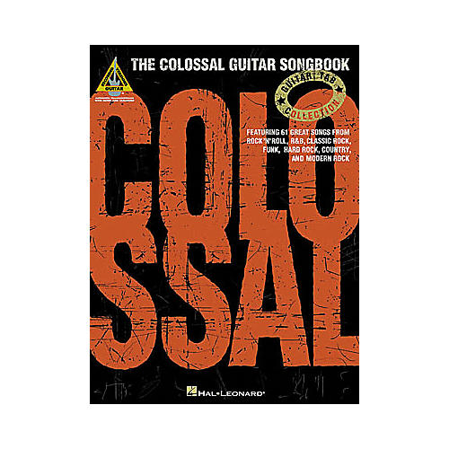 Hal Leonard The Colossal Guitar Songbook-thumbnail