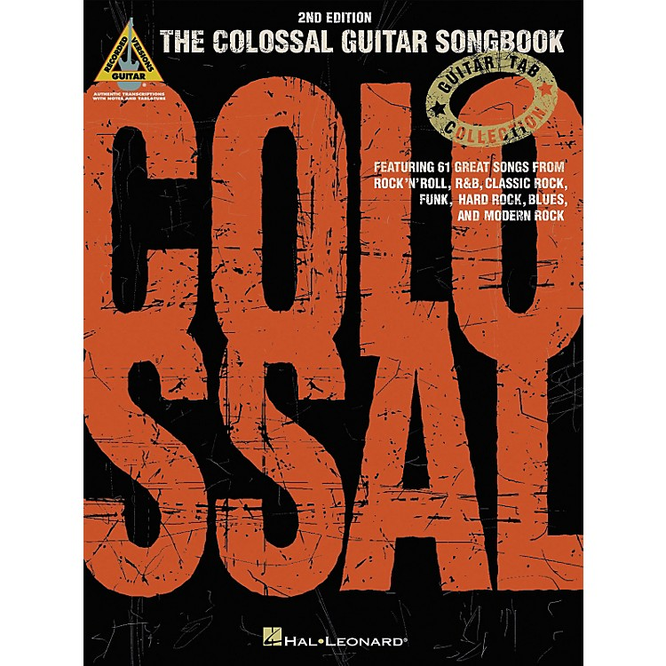 Hal Leonard The Colossal Guitar Tab Songbook 2nd Edition