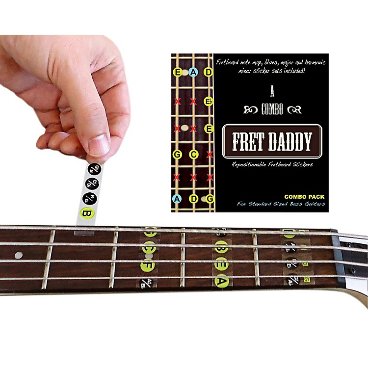 Fret DaddyThe Combination Pack for Bass Guitar