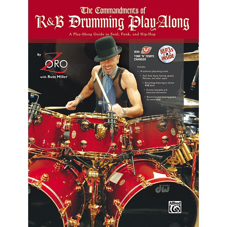AlfredThe Commandments of R&B Drumming Play-Along - by Zoro (Book/CD)