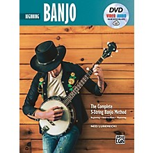 Alfred The Complete 5-String Banjo Method: Intermediate Banjo, Book & Online Audio & Video