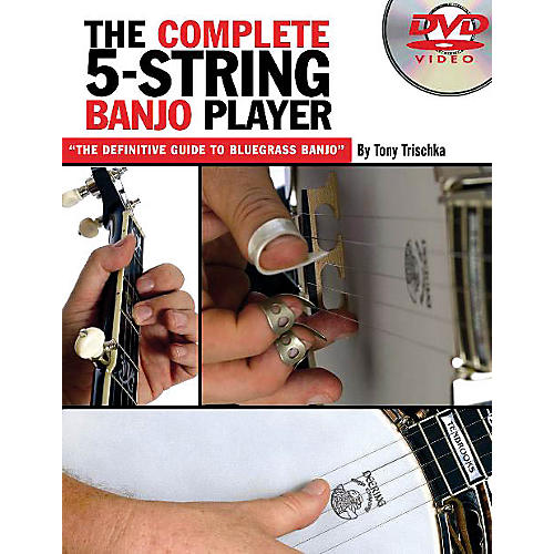Music Sales The Complete 5-String Banjo Player Music Sales America Series DVD Written by Tony Trischka-thumbnail