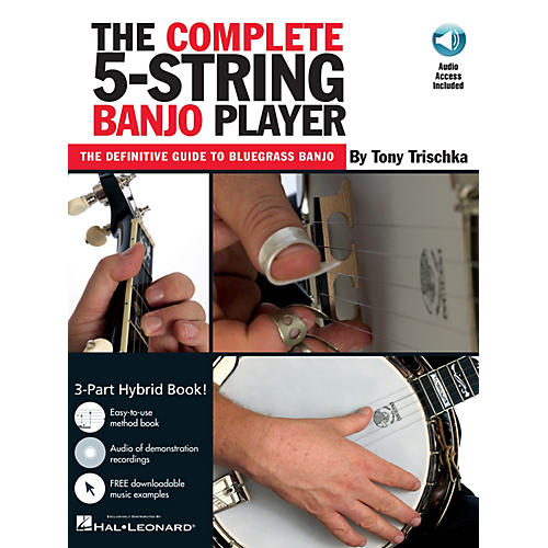 Music Sales The Complete 5-String Banjo Player Music Sales America Series Softcover with CD by Tony Trischka-thumbnail