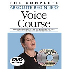 Music Sales The Complete Absolute Beginners Voice Course Music Sales America Series