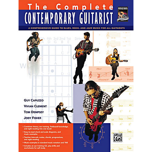 Alfred The Complete Contemporary Guitarist Book & CD-thumbnail