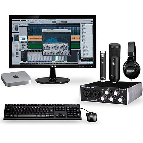 apple the complete desktop recording studio with mac mini v4 mgem2ll a musician 39 s friend. Black Bedroom Furniture Sets. Home Design Ideas