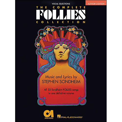 Hal Leonard The Complete Follies Collection Vocal Selections Authors Edition arranged for piano, vocal, and guitar (P/V/G)