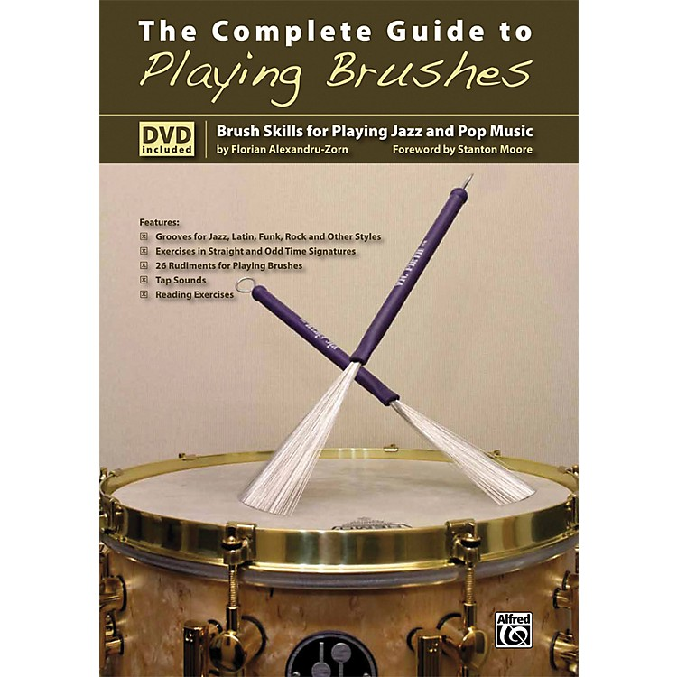 Alfred The Complete Guide to Playing Brushes Book & DVD