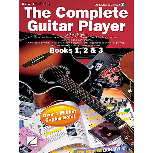 Music Sales The Complete Guitar Player Books 1, 2 and 3