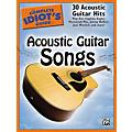 Alfred The Complete Idiot's Guide To Acoustic Guitar Songs Book  Thumbnail