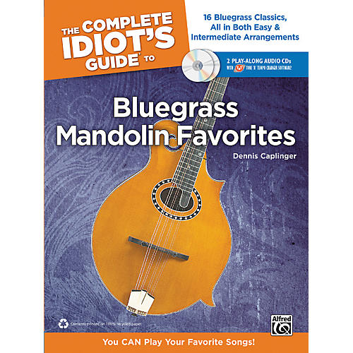 Alfred The Complete Idiot's Guide to Bluegrass Mandolin Favorites Book & 2 CDs