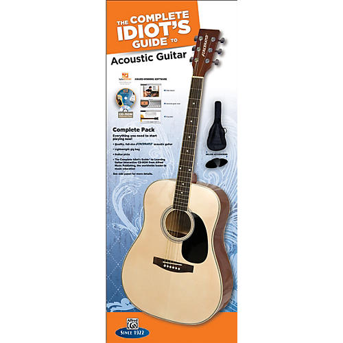 Alfred The Complete Idiot's Guide to Learning Guitar Acoustic Guitar Complete Pack-thumbnail
