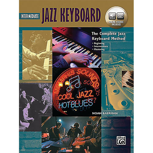 Alfred The Complete Jazz Keyboard Method - Intermediate Jazz Keyboard Book & Online Audio-thumbnail