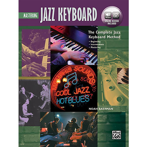 Alfred The Complete Jazz Keyboard Method - Mastering Jazz Keyboard Book & Online Audio-thumbnail