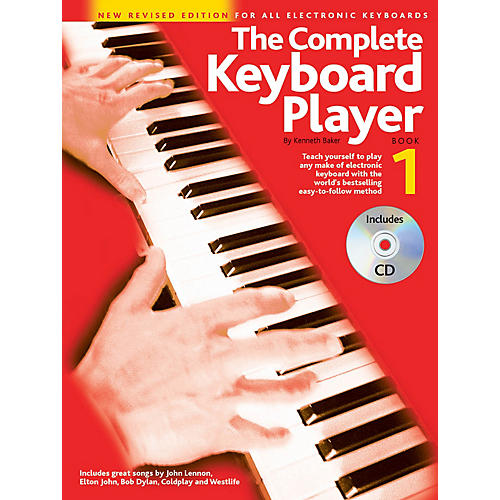 Music Sales The Complete Keyboard Player - Book 1 Music Sales America Series Softcover with CD by Kenneth Baker-thumbnail