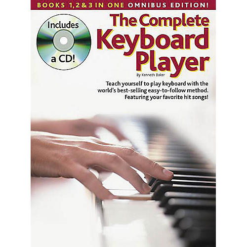 Music Sales The Complete Keyboard Player: Omnibus Edition Music Sales America Softcover with CD by Kenneth Baker-thumbnail
